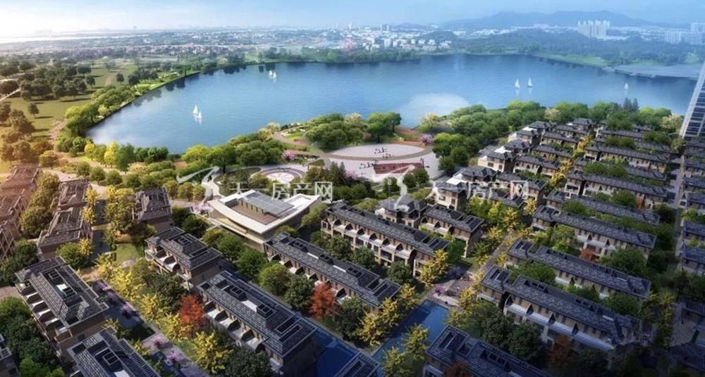 绿地公园城效果图