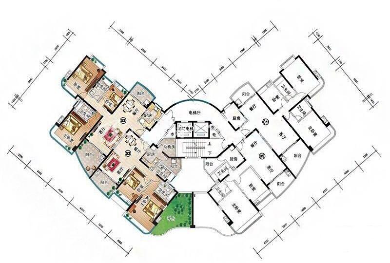 雅居乐清水湾K型K-1栋-3房2厅1厨2卫-149.03㎡.jpg