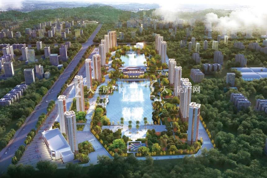 三水大塘新城规划图