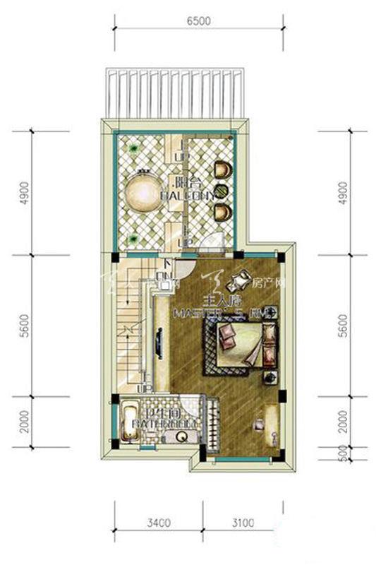 D2户型三层1房0厅0厨1卫-54.51㎡.jpg
