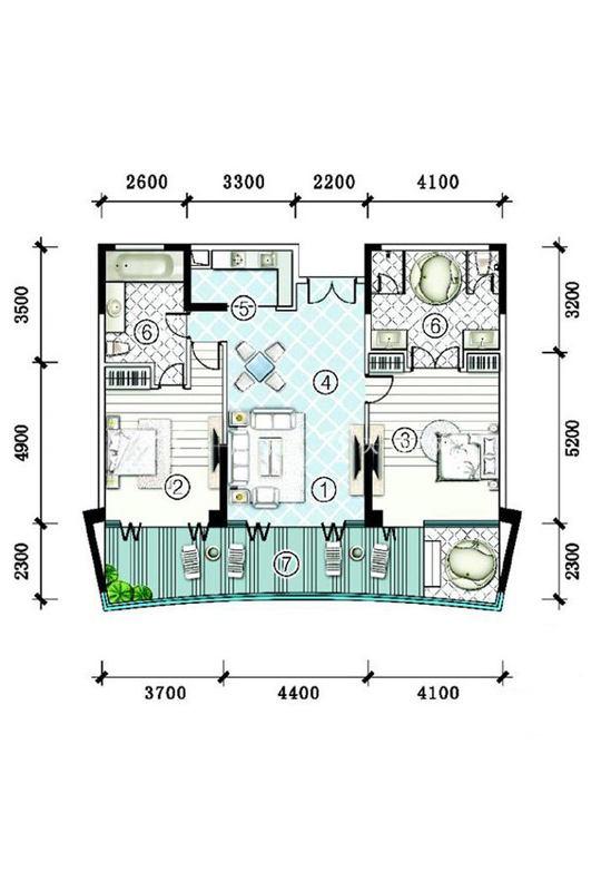 -洋房SA3-G-2房2厅1厨2卫-166.89㎡.jpg