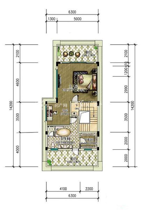 别墅T1户型-2房0厅0厨1卫-约59.76㎡.jpg