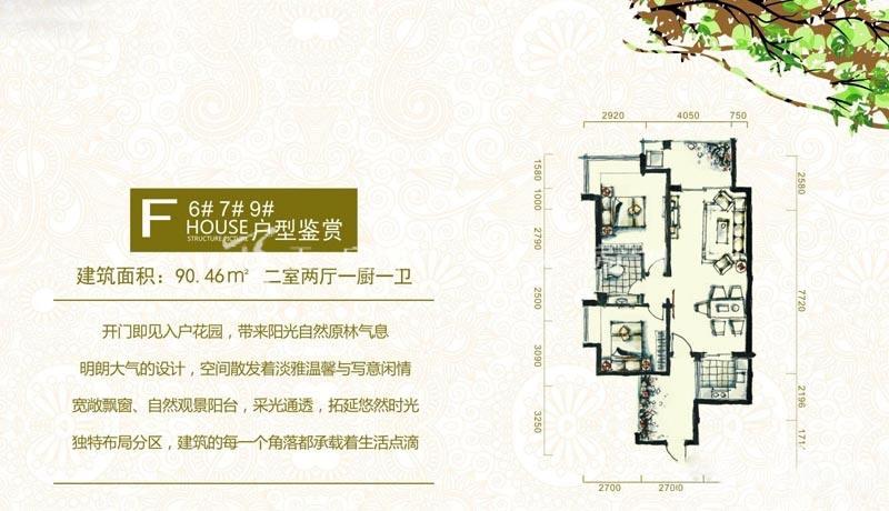 三亚富春山居F户型图2室2厅1卫1厨90.46㎡.jpg