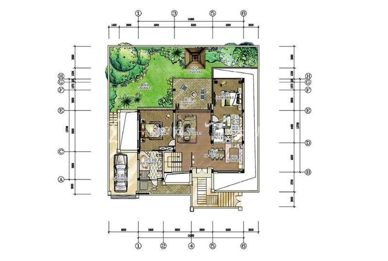 别墅B户型-2房2厅1厨2卫-159.47㎡.jpg