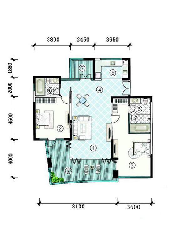 SA3栋-F-2房2厅1厨2卫-173.17㎡.jpg