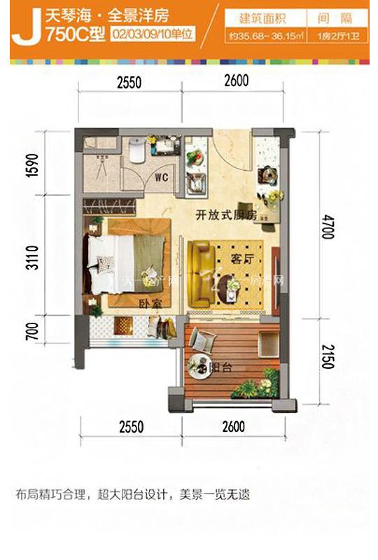 天琴海J750C-1房2厅1厨1卫-35.68㎡.jpg